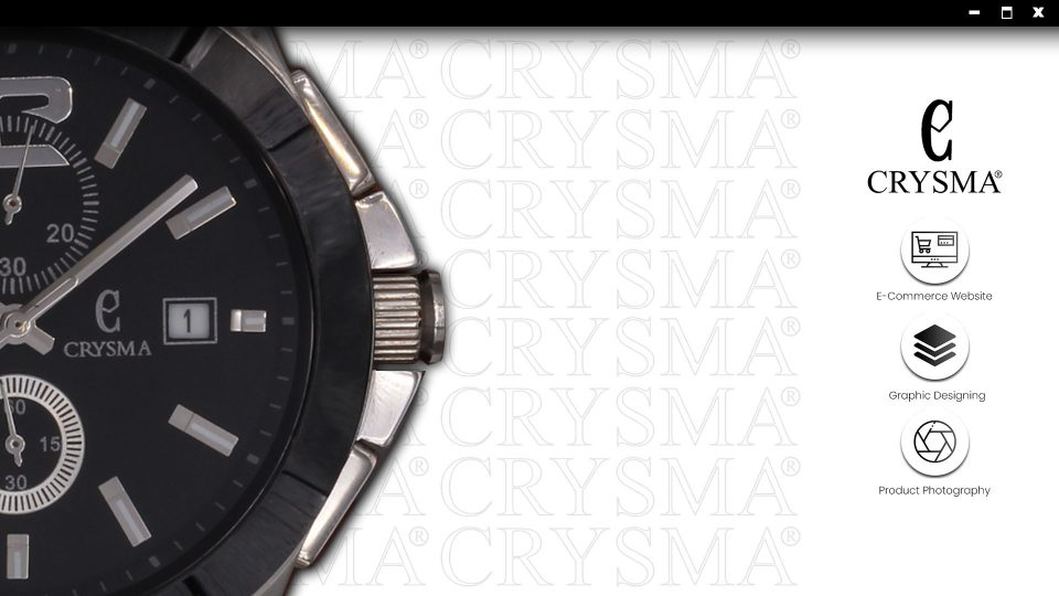 CRYSMA WATCHES